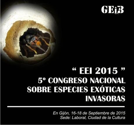"""""""EEI 2015"""" V Congreso Nacional sobre Especies Exóticas Invasoras"""