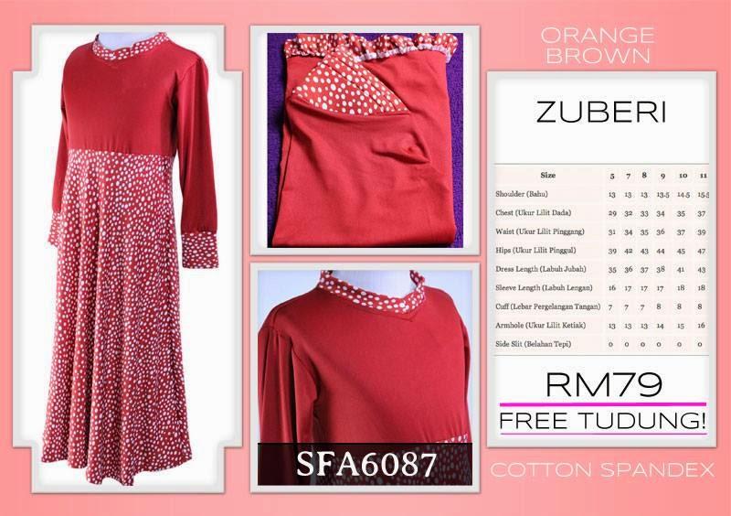 Jubah or dress murah untuk kanak kanak
