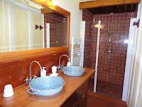 Salle de bain Bel-Air, gîte Landes