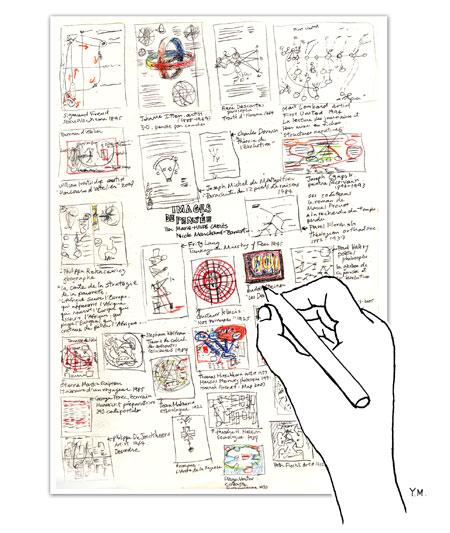 Note taking by Yukié Matsushita