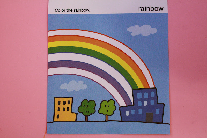 kumon coloring page roy g biv baby and i have to say that explaining the difference between. Black Bedroom Furniture Sets. Home Design Ideas