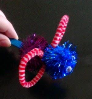 Toddler Pom Pom Bugs. http://lukeosaurusandme.blogspot.co.uk