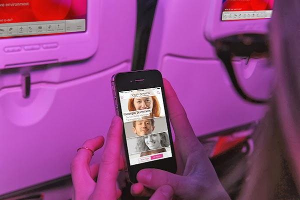 First in-flight social network launched by Virgin America