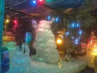 wahana salju buatan