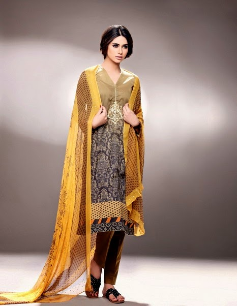 Nishat Linen Eid Collection 2014-2015