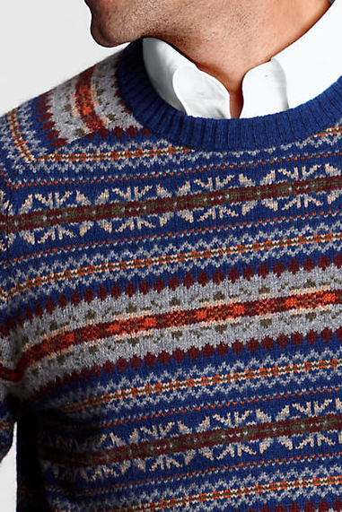 Alex Grant: Lands' End Shorewood Fair Isle Sweater