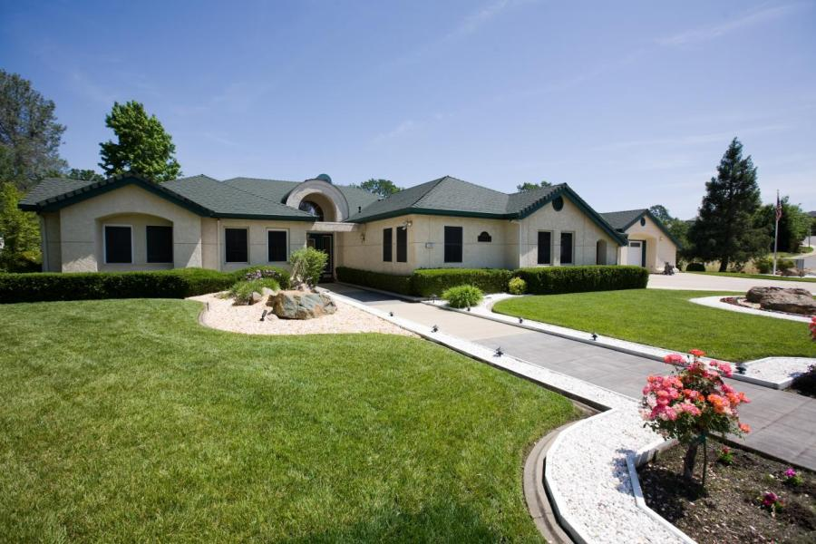Exellent Home Design Luxury Golf Course Home