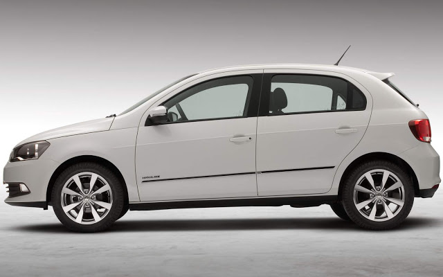 novo Volkswagen Gol G6 2014 lateral
