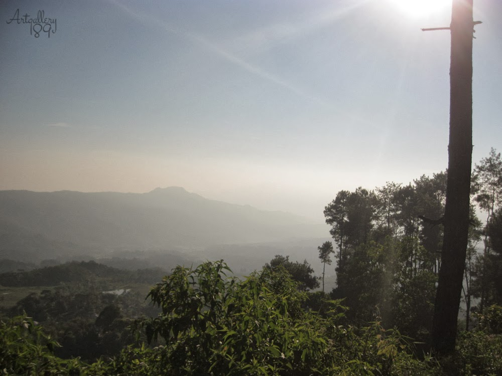 the beauty of the mountains of cianjur-Indonesia