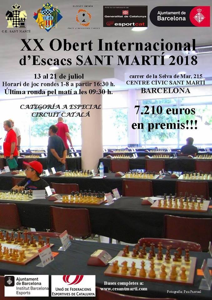 Open Sant Martí 2018