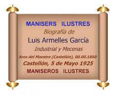 16.10.17 MANISER ILUSTRE: LUIS ARMELLES GARCÍA