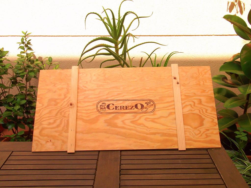 Diy marta nos cuenta c mo hacer un tablero portanotas con - Tableros de madera baratos ...