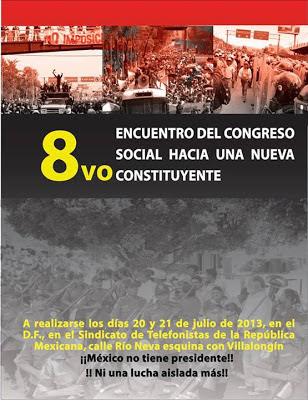VIII Encuentro del Congreso Social Hacia un nuevo Constituyente