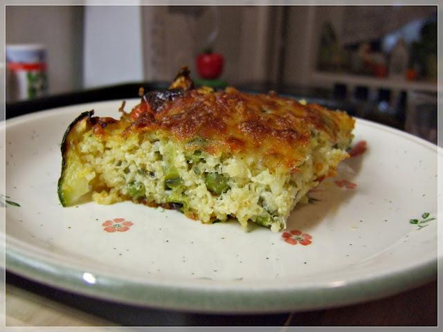 jáhelník - jáhly se zeleninou v troubě