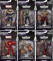 Marvel Guardians of the Galaxy 6-inch, Complete Set of 6