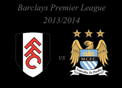 Fulham vs Manchester City Barlays Premier League 2013