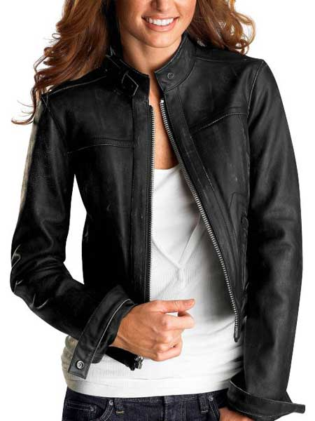 Leather jacket styles for women