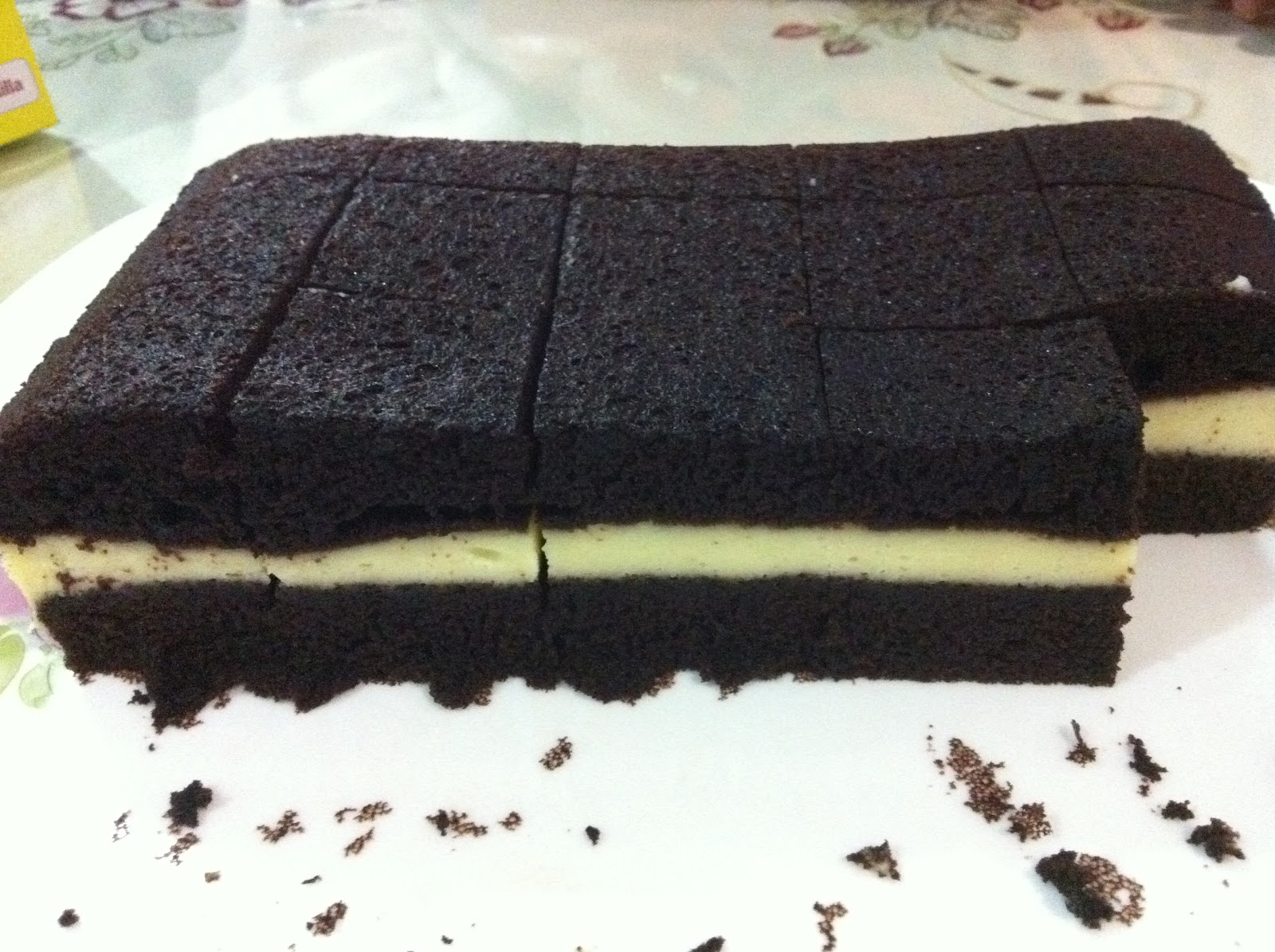 KEK LAPIS KUKUS CREAM CHEESE
