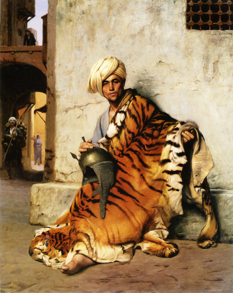 the pelt merchant by jean leon gerome