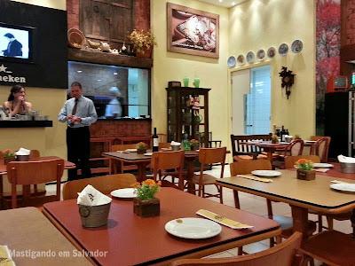 Restaurante Carro de Boi: Ambiente da loja do Salvador Shopping