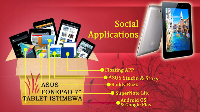 Ada 5 Sosial Media pada tablet istimewa ini