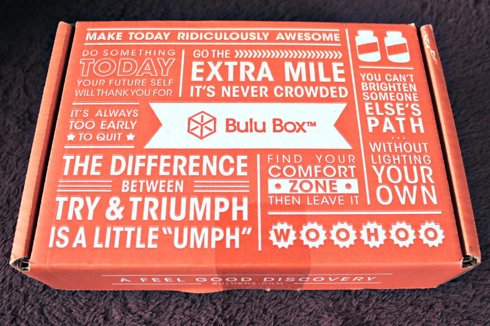 Bulu Box Review May 2014 50 Off Code Weight Loss Box
