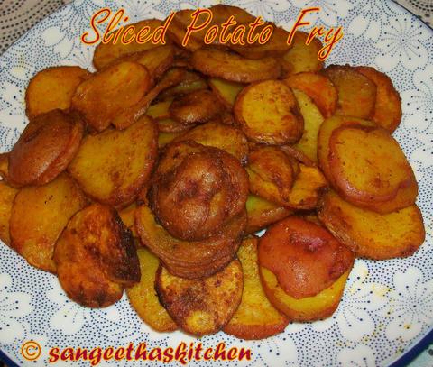 Spicy Treats: Sliced Potato Fry / Urulai kizhangu Varuval / Easy ...