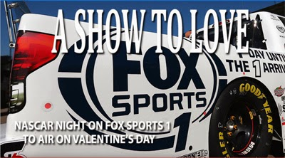 NASCAR Night on FOX Sports 1 to Air on Valentine's Day.