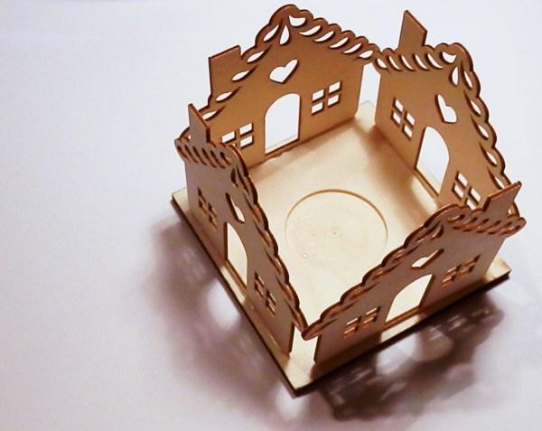 DIY : Photophore maisonnette