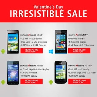 Huawei Philippines Irresistible Sale Price for Valentines Day