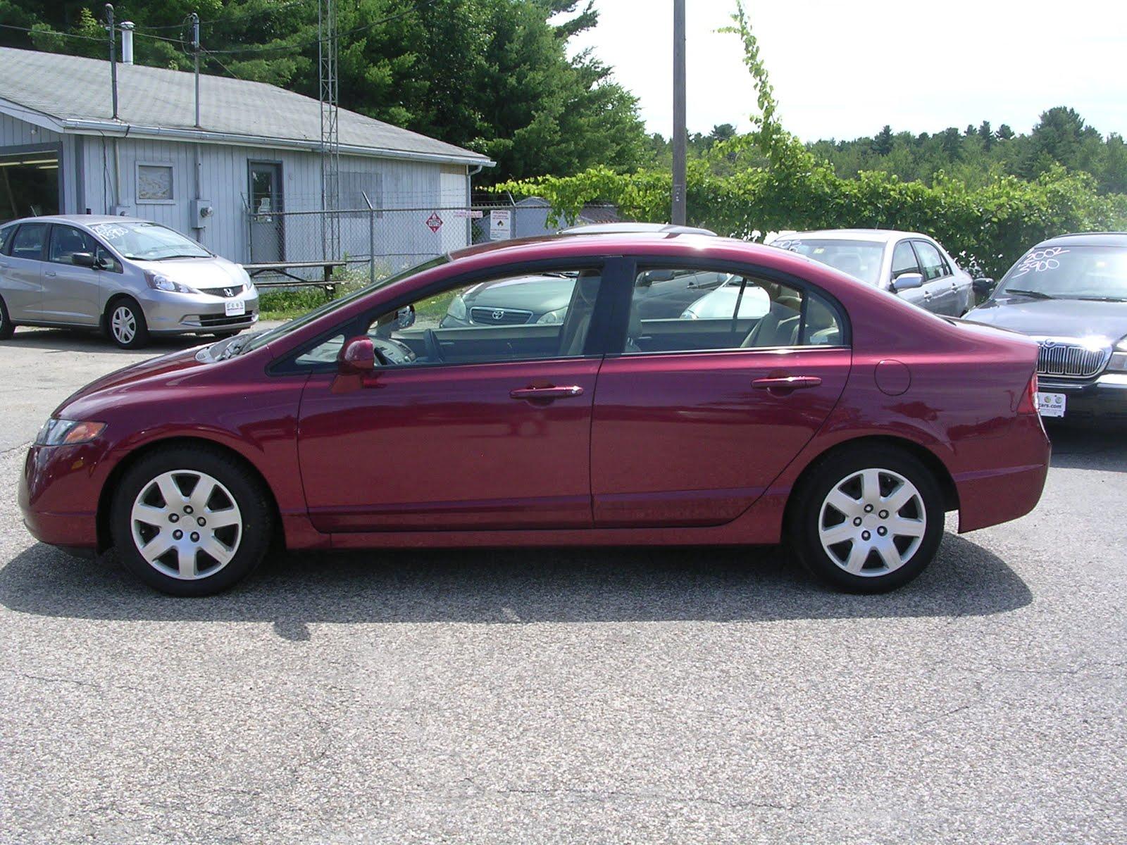 2008 Honda Civic LX, Red, Sedan, 50561 Mi, 11,995 $11,495  Http://bit.ly/NfUZcY Compact, 5 Spd Automatic, MPG U003d 25/36