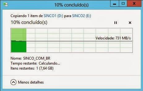 4 SSDs Seagate ST240HM000 em RAID-0