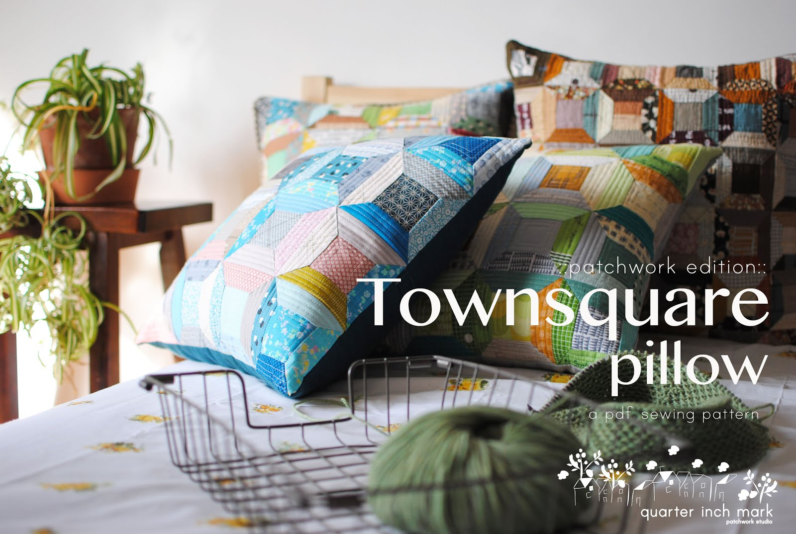 Townsquare Pillow Sewing Pattern