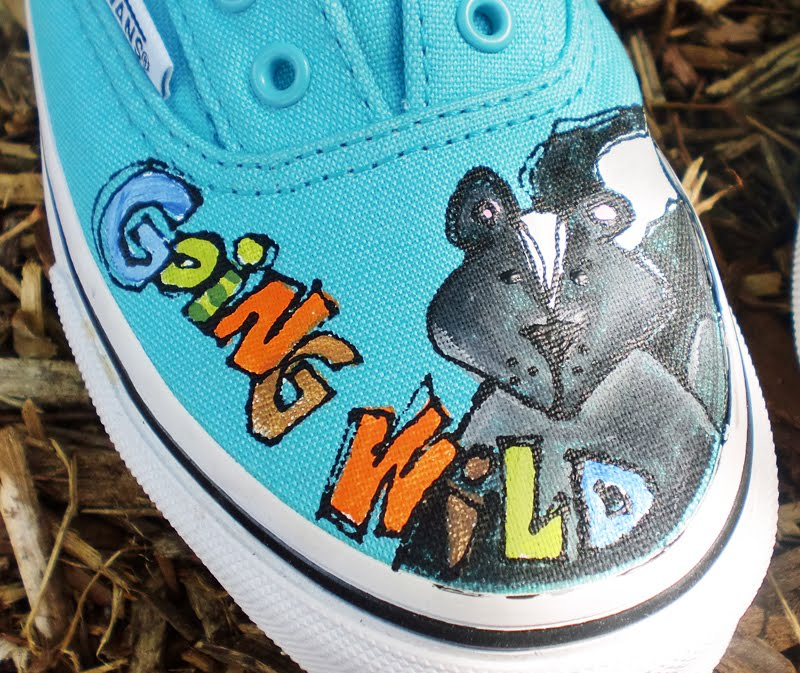 Hand Painted VANS for boys