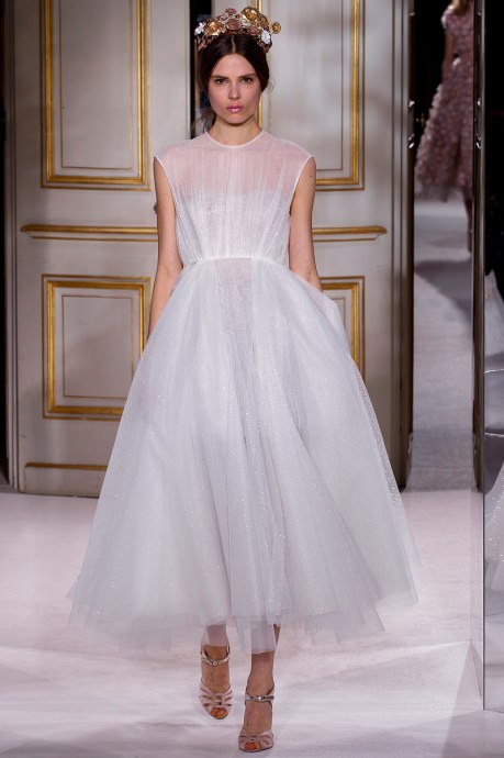 Fashion Week in Paris. Collection Giambattista Valli Spring 2015