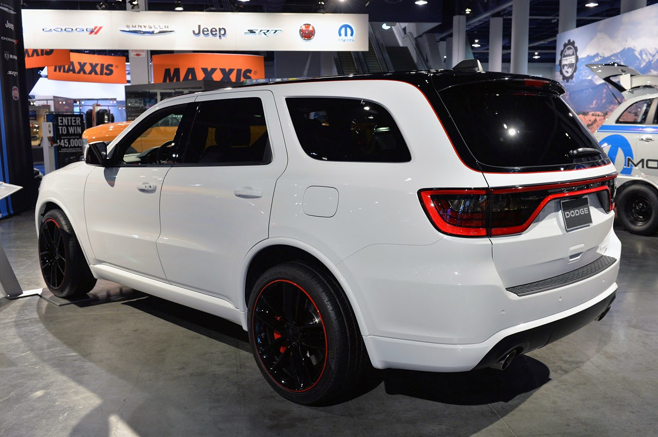 Custom 2014 dodge durango r t