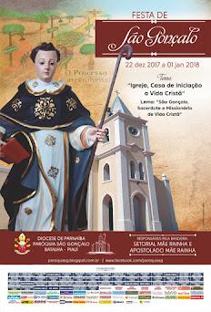 PARTICIPE DOS FESTEJOS DE SÃO GONÇALO - DE 22 DE DEZEMBRO A 01 DE JANEIRO DE 2018