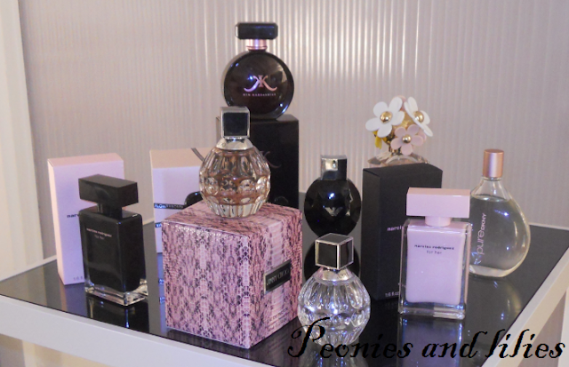 Debenhams SS13, Jimmy Choo perfume, Marc jacobs perfume, Pure DKNY perfume, Narciso rodriguez perfume