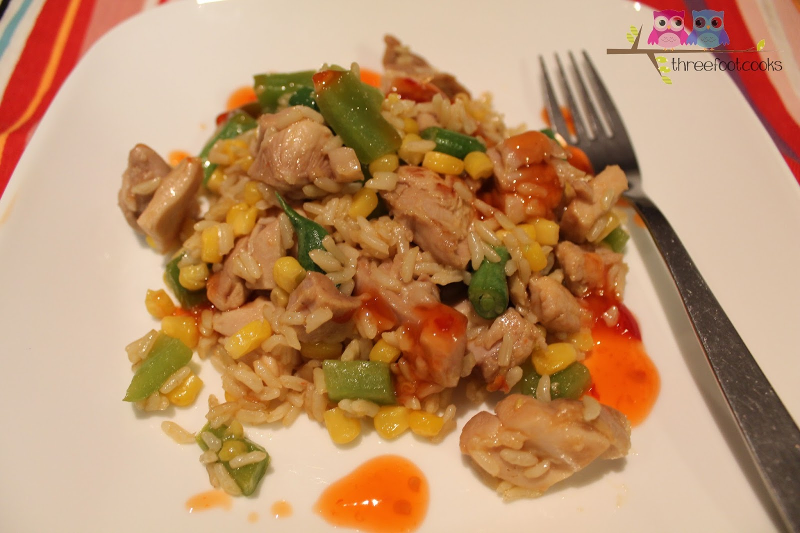 C is for Chicken and Brown Rice Salad