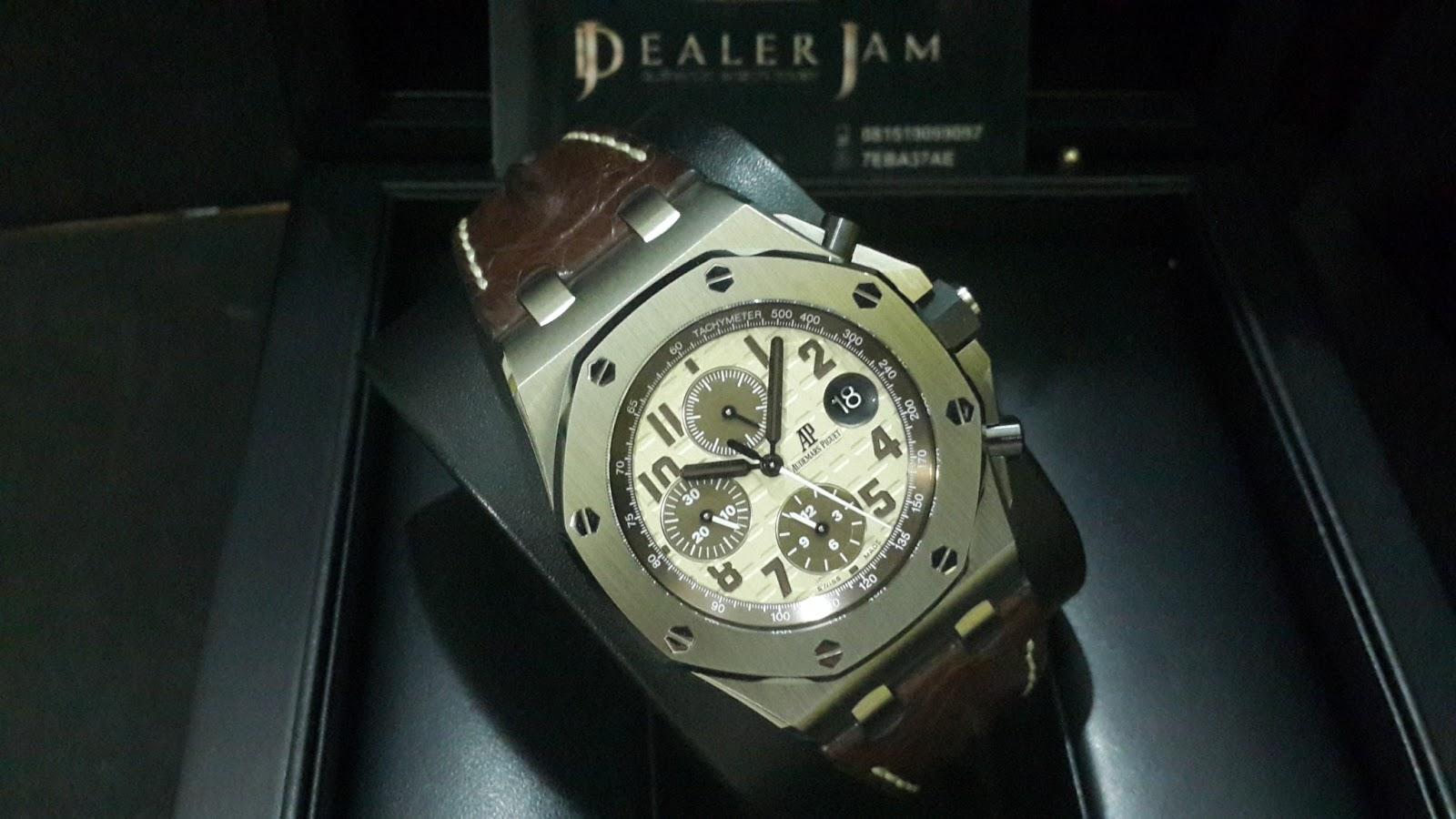 Jual Beli Jam Tangan Mewah Second Original Arloji Luxury Bekas Audemars Piguet Safari Steel 42mm Instagram Dealerjam