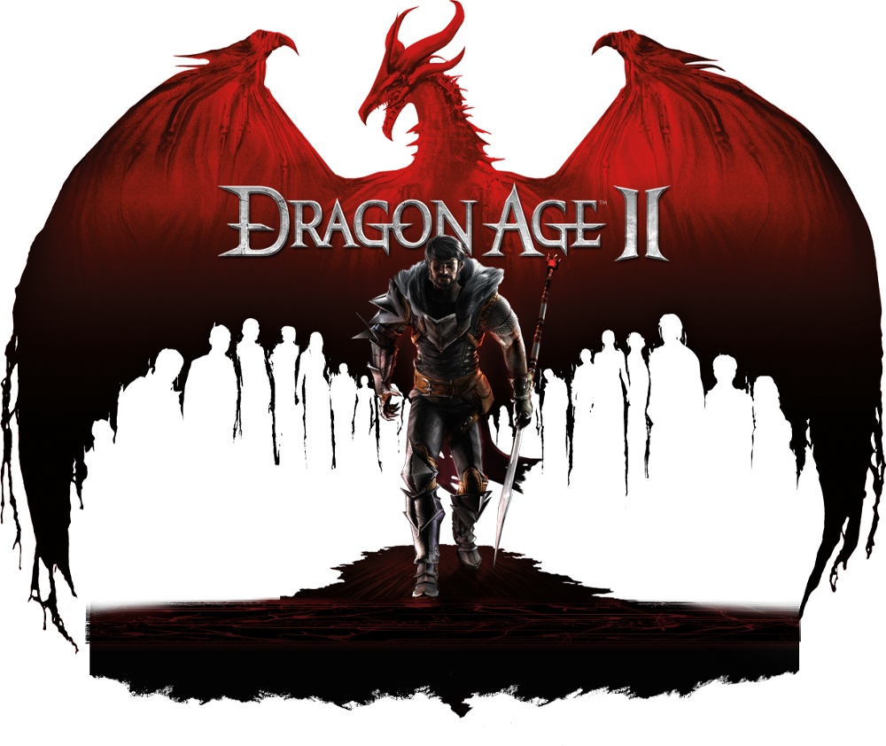 video game poster Dragon Age II images