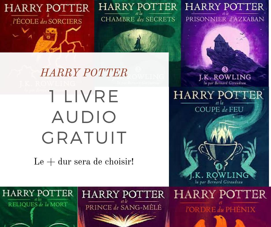 1 Livre audio offert avec Audible
