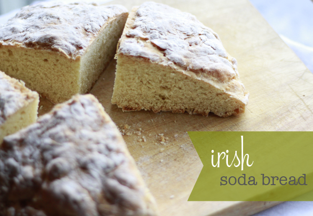 Calico skies: My Grandma's Irish Soda Bread Recipe