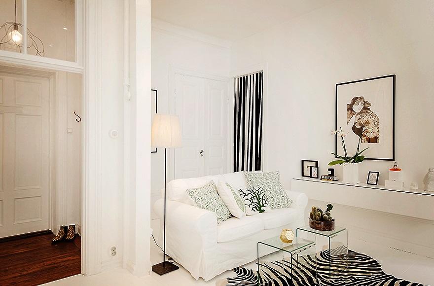 Blog achados de decora o pequeno apartamento de 38m2 for Ikea arredare piccoli spazi