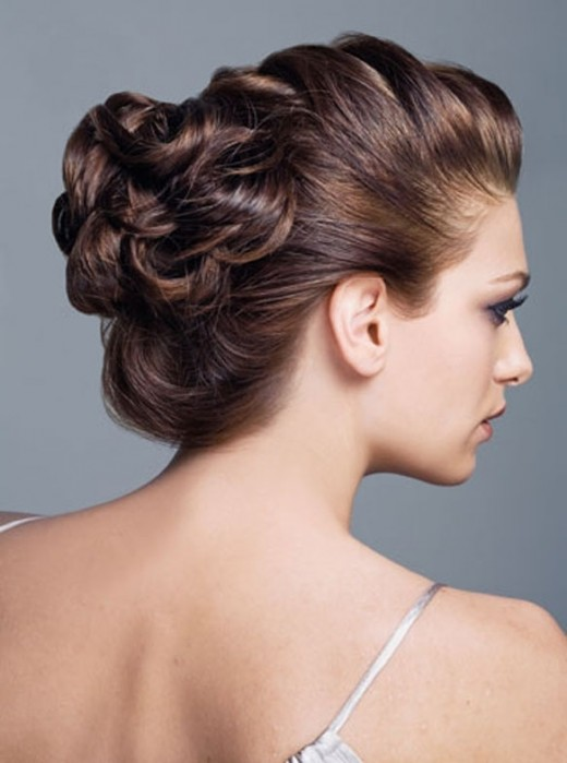 Pinterest Pin: Wedding Updo For Long Hair