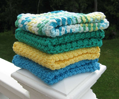 More Crocheted Dish/Wash Cloths