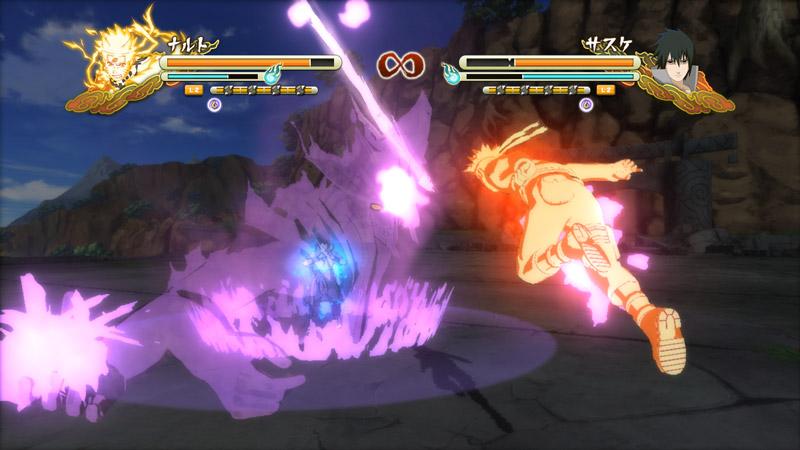 Naruto Storm 3 Naruto vs Sasuke 2