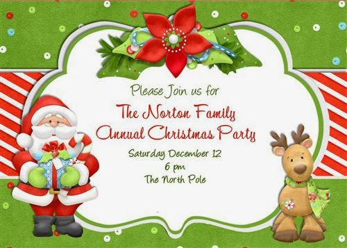 Meaning Christmas Invitation Wording For Kids