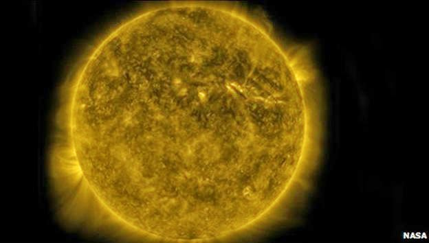 Sol mais fraco pode causar uma pequena era do gelo