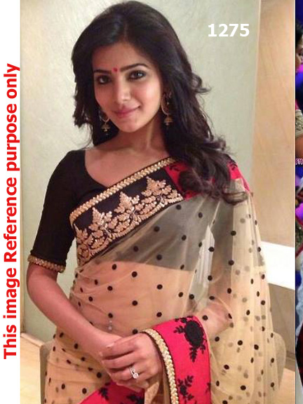 South Indian Actress Saree Replica